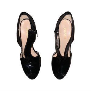 Prada T strap sandal